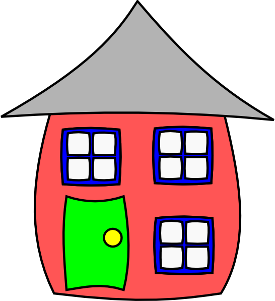 Cartoon House Clip Art at Clker.com.