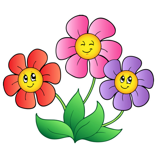 Cartoon Flowers Pictures Images