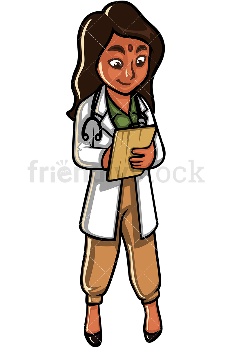 Indian Woman Doctor.