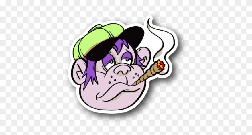 Weed Clipart Joint Smoke.