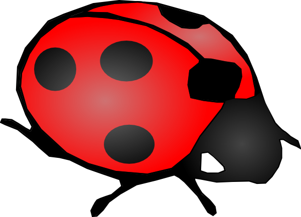 Cartoon Ladybug Clipart.