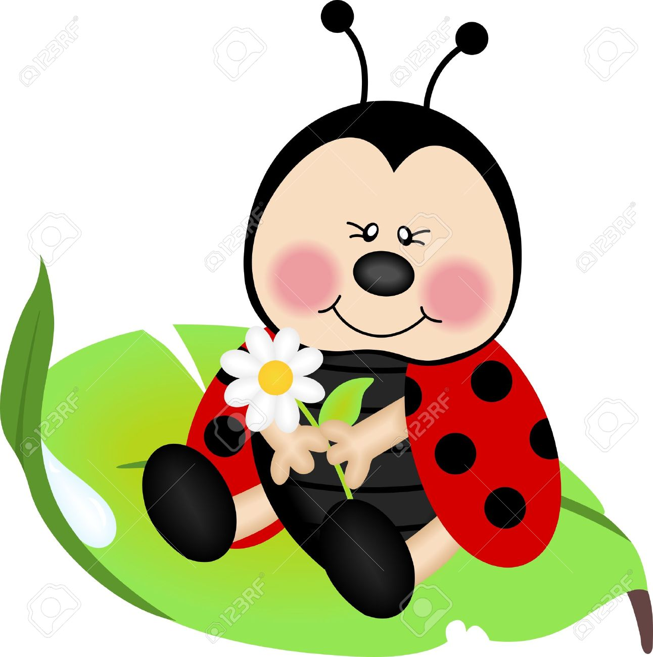 Ladybug Cartoon Stock Photos Images. Royalty Free Ladybug Cartoon.