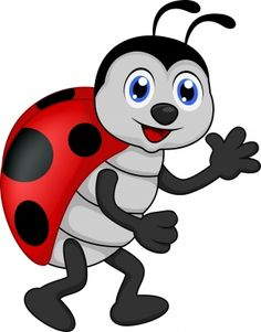 Ladybug Cartoon Insect Images Free To Copy For Your Own Personal.