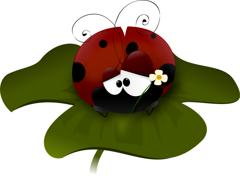 Free to Use & Public Domain Ladybug Clip Art.