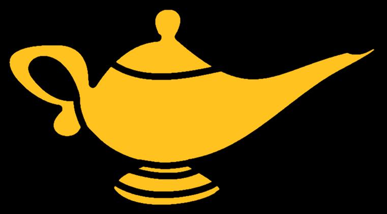 Genie Lamp Clipart.