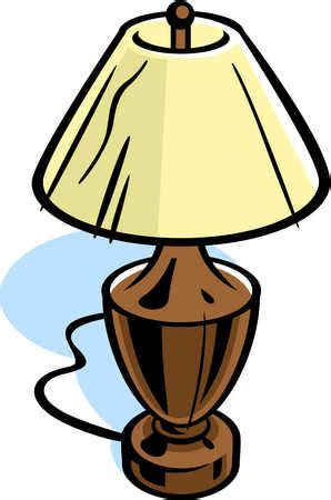 Wooden Floor Lamp Icon In Cartoon Style Isolated On White.