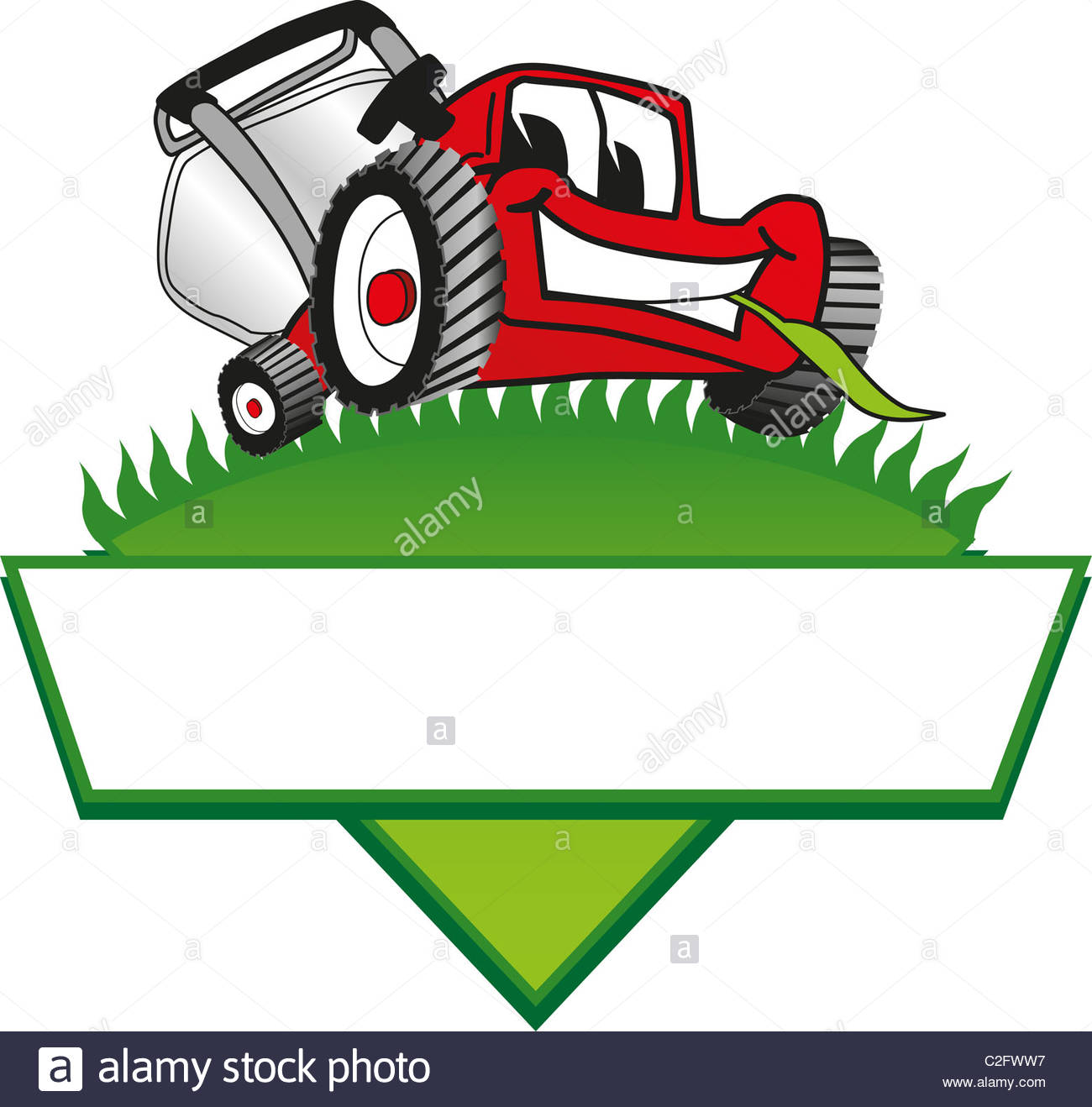 736 Lawn Mower free clipart.