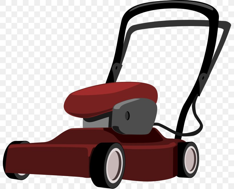 Lawn Mowers Cartoon Clip Art, PNG, 800x660px, Lawn Mowers.