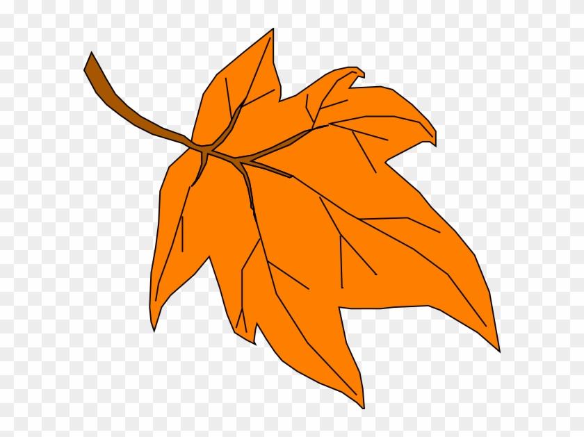 Fall Leaf Clip Art.
