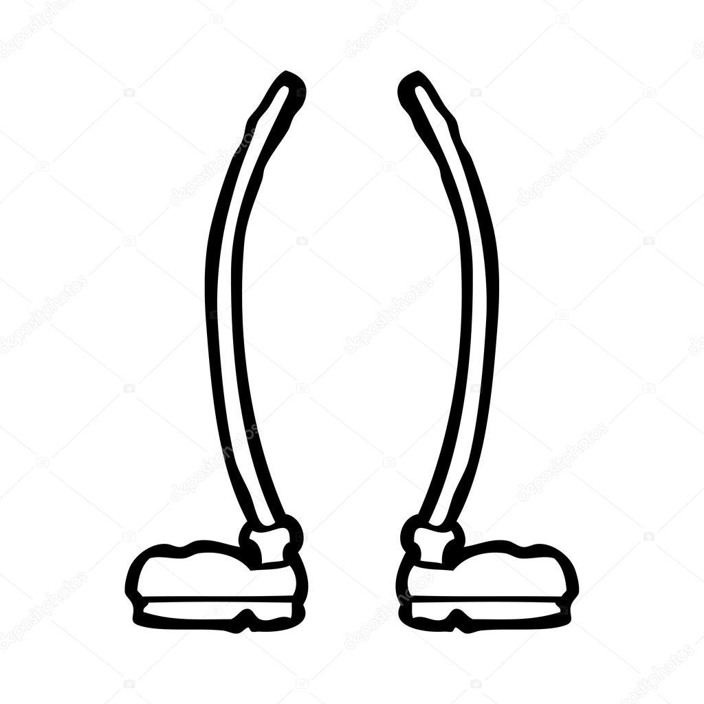 Cartoon Legs Clipart.