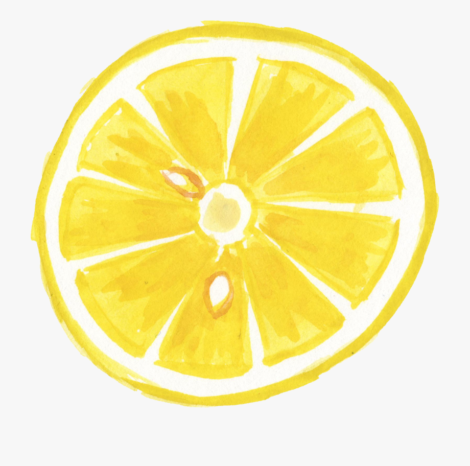 Lemon Slice Png.