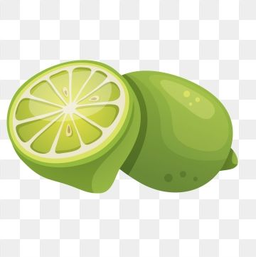 2019 的 Lime Lemon Summer Fruit Cartoon Fruit, Hand Drawn Fruit.