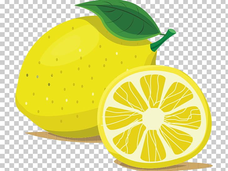 Cartoon Lemon PNG, Clipart, Art, Auglis, Citric Acid, Citron, Citrus.