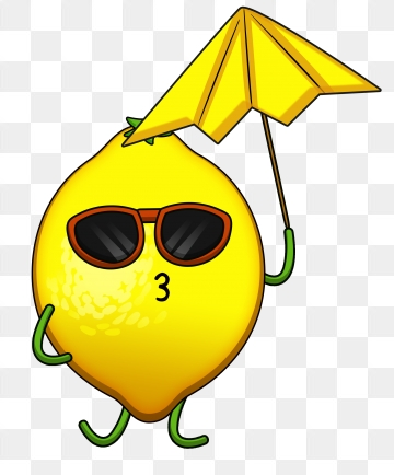 Cartoon Lemon PNG Images.