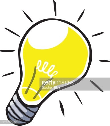 Cartoon Light Bulb premium clipart.