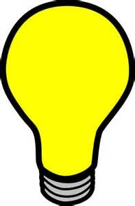 Light Bulb Cartoon.