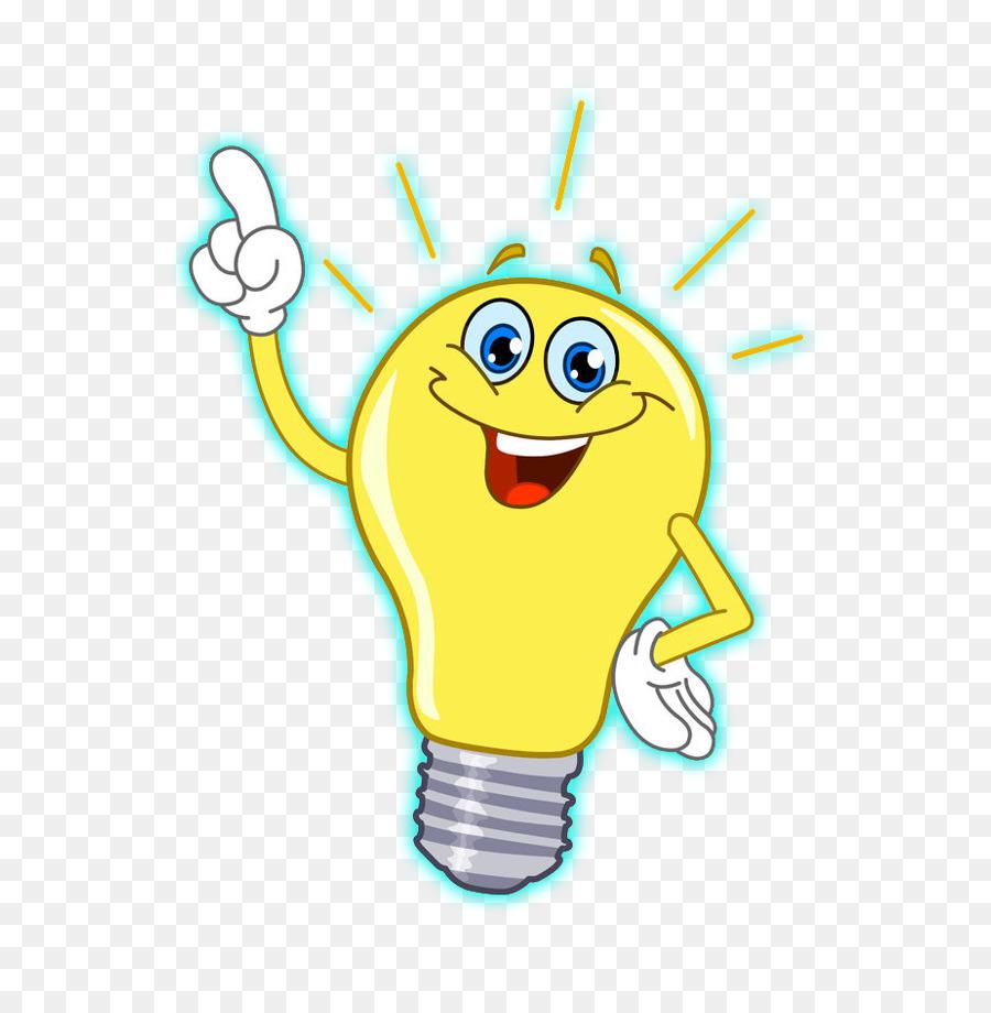 Light Bulb Cartoon png download.