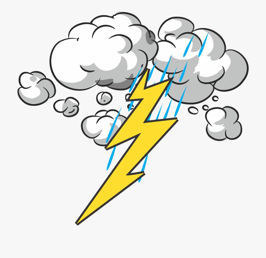 Thunder Clipart Storm.