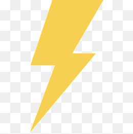 Cartoon Lightning PNG Images.