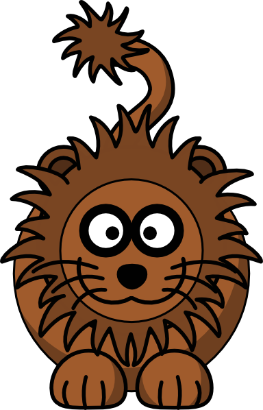 Cartoon Lion clip art Free Vector / 4Vector.