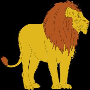Cartoon Lion PNG, SVG Clip art for Web.