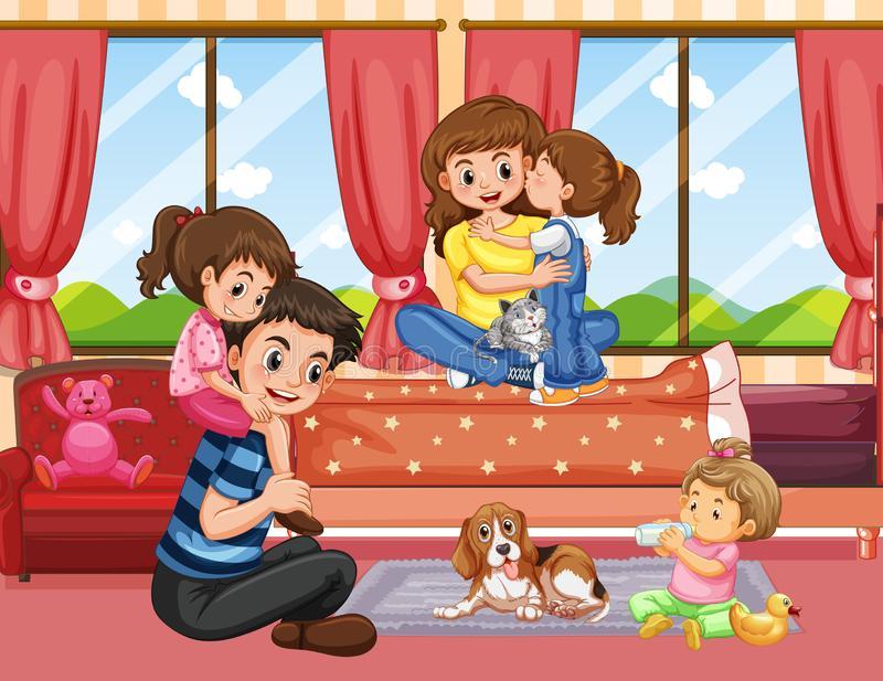 Living Room Clip Art Stock Illustrations.