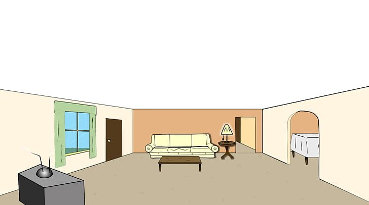 Living Room Cartoon PNG, Clipart, Angle, Animation, Architecture.
