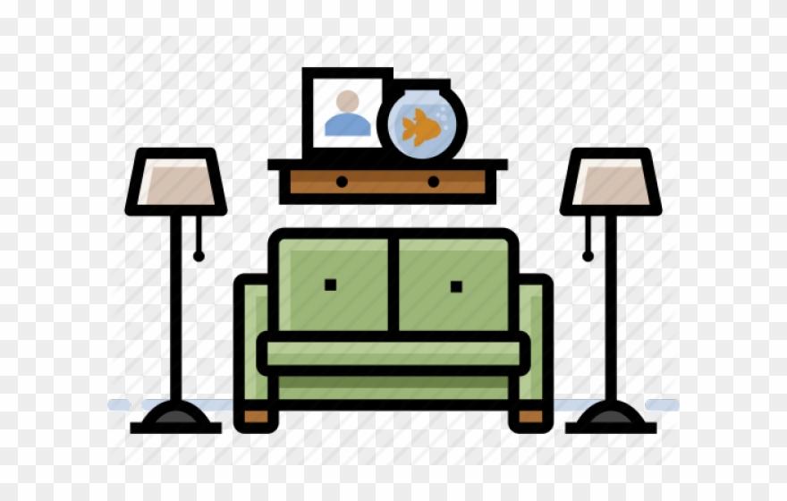 Living Room Clipart Transparent.