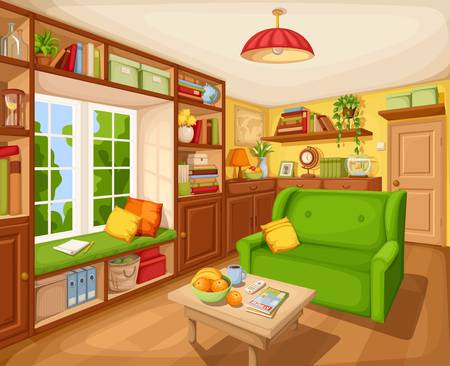 81,447 Living Room Cliparts, Stock Vector And Royalty Free Living.