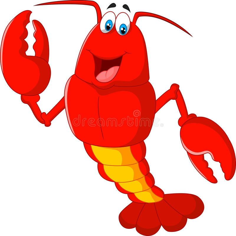 Cartoon Lobster Stock Illustrations.