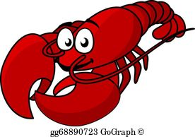 Lobster Clip Art.