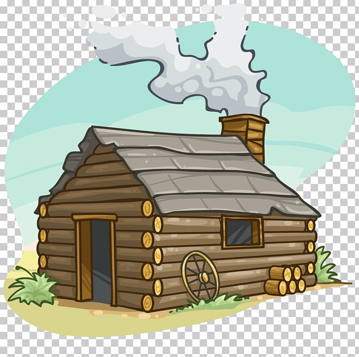 Log Cabin Cottage Cartoon PNG, Clipart, Building, Cabin, Cartoon.