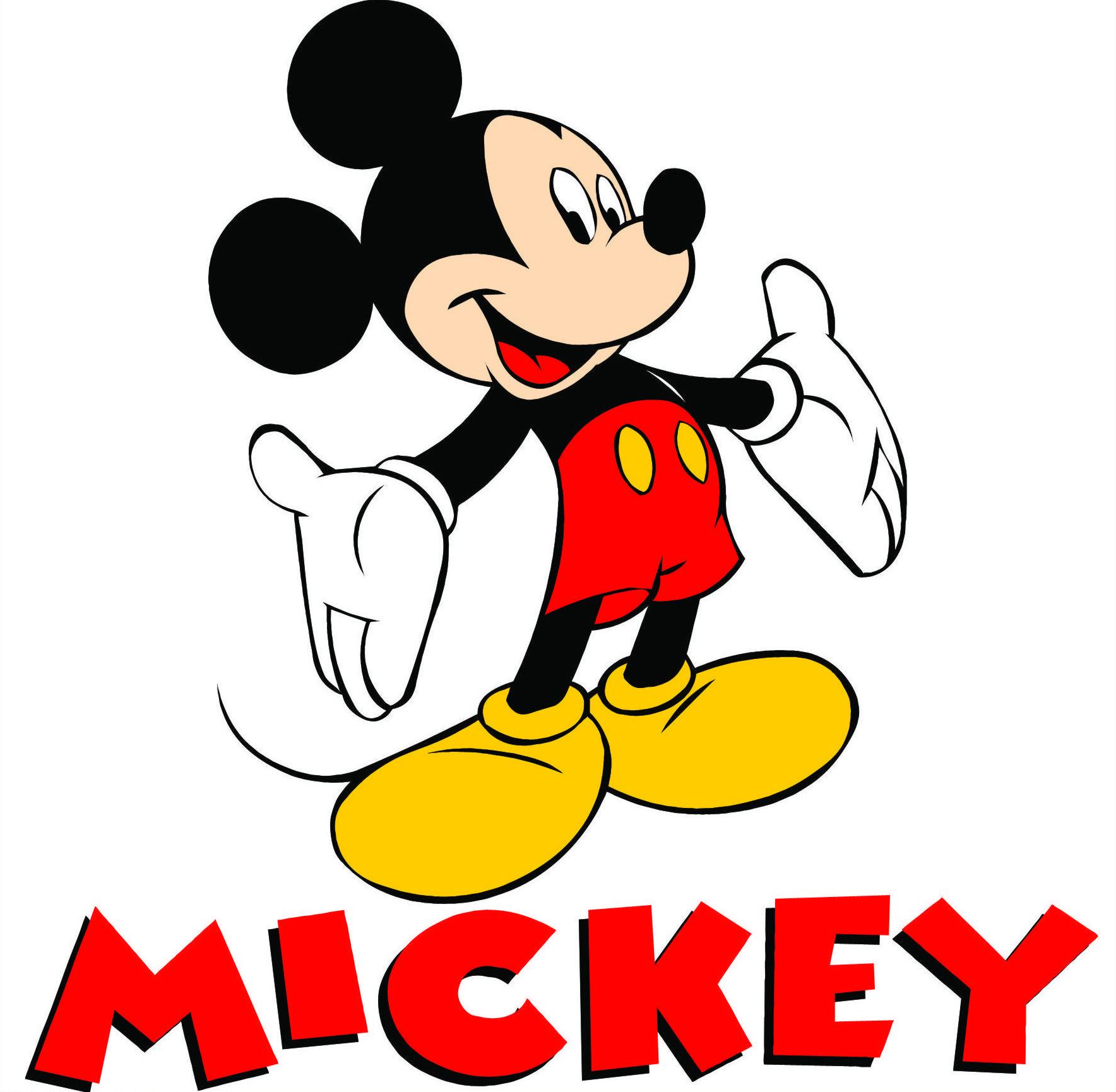 Mickey Mouse Logo.