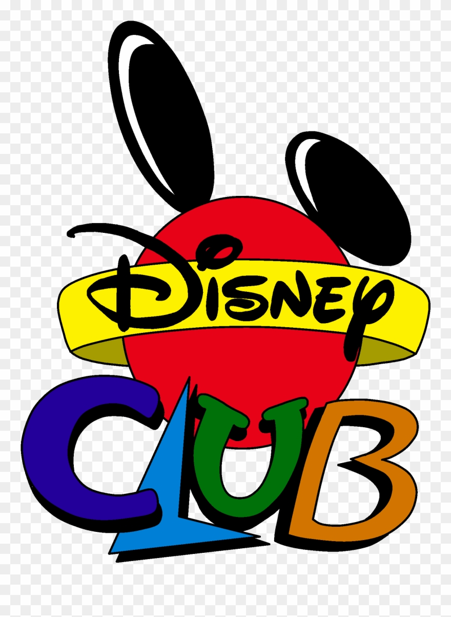 Disney Club Cartoon Logo.