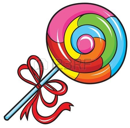 Swirl Lollipop Stock Vector Illustration And Royalty Free.
