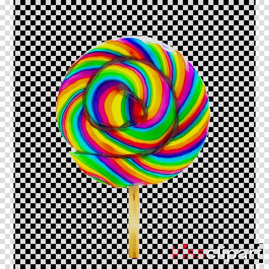 Lollipop Cartoon clipart.