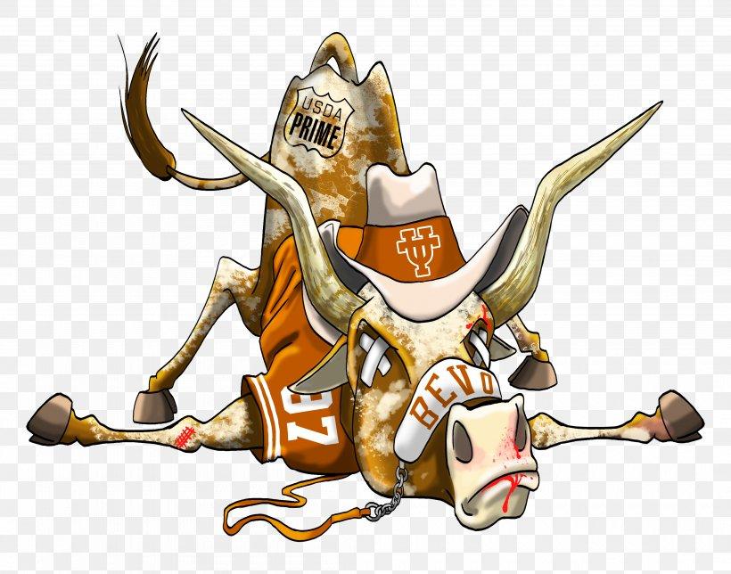 Texas Longhorns Football Cartoon Mascot, PNG, 4200x3300px.