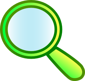 Magnifying glass magnify glass clip art at vector clip art online.