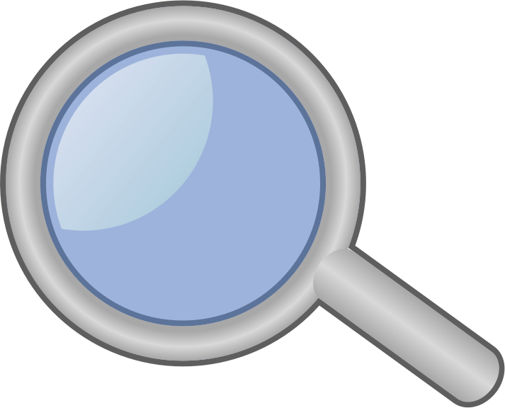 Clipart magnifying glass clipart 2.