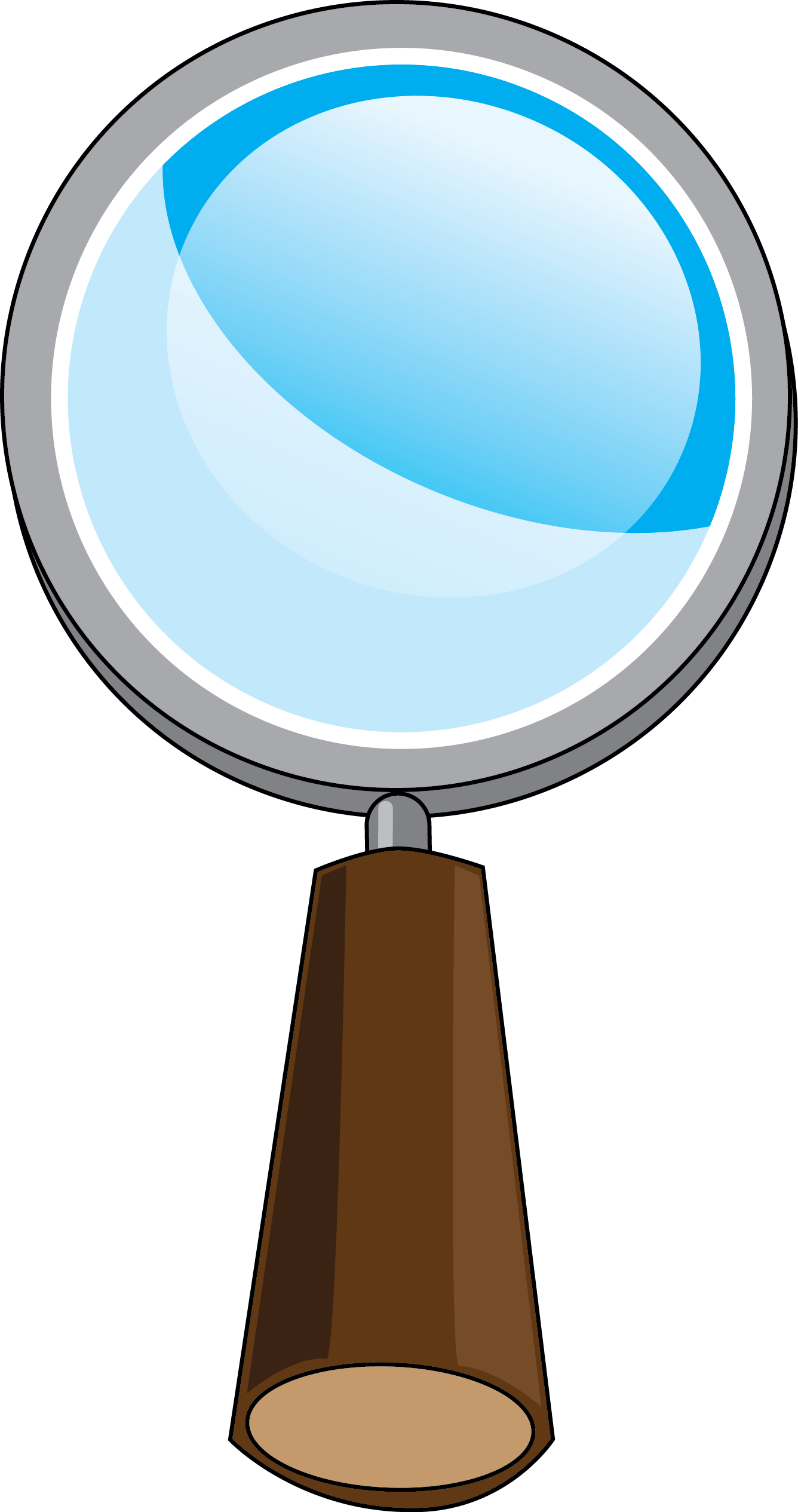 Magnifying glass magnifier glass clip art at vector clip art.