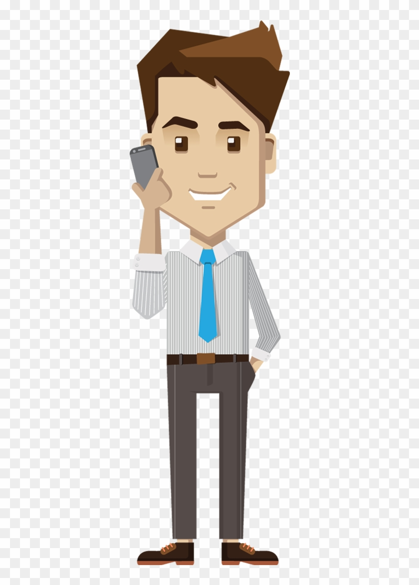 People Clipart Phone.