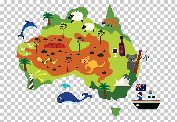 Australia Drawing Cartoon , australian map PNG clipart.