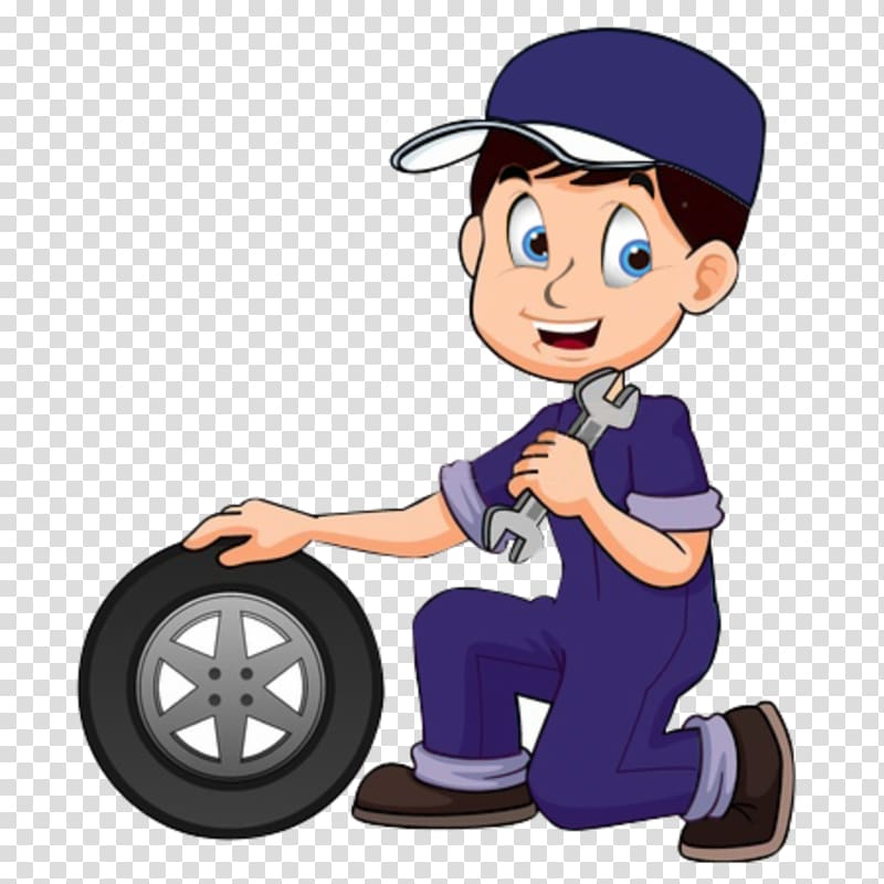 Cartoon Auto mechanic, MECHANIC transparent background PNG.