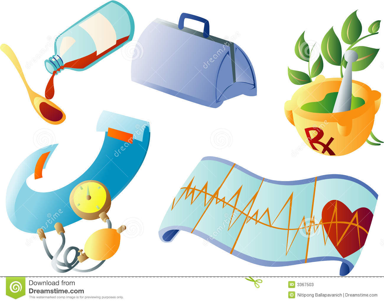 Medical Clipart stock vector. Illustration of clinical.