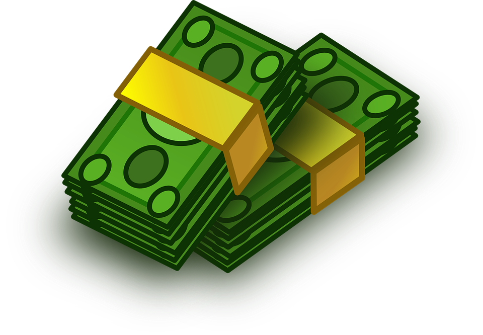 Free vector graphic: Banknotes, Bankroll, Bill, Money.