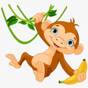 PNG Monkey Cliparts & Cartoons Free Download.