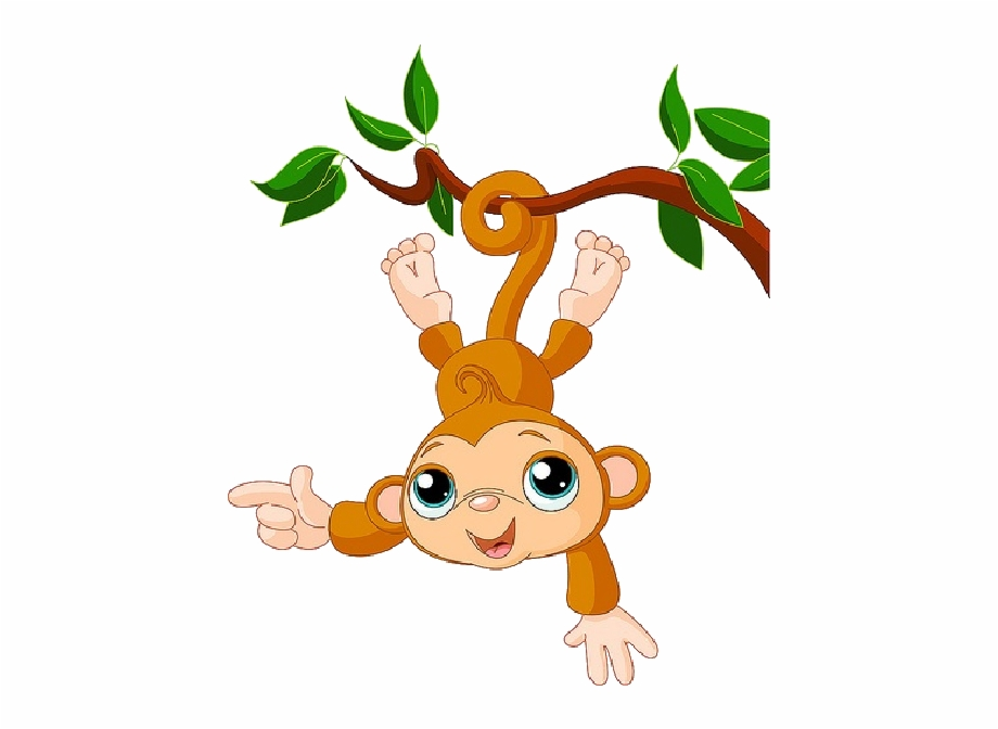 Clip Art Of Cartoon Monkeys Png Image Clipart.