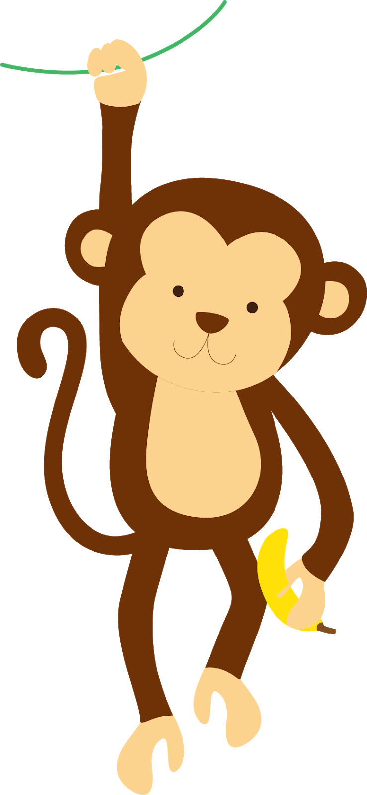Chimpanzee Cartoon Clip Art.