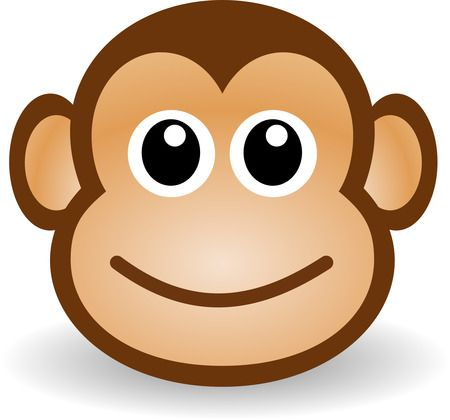 cartoon monkey clip art.