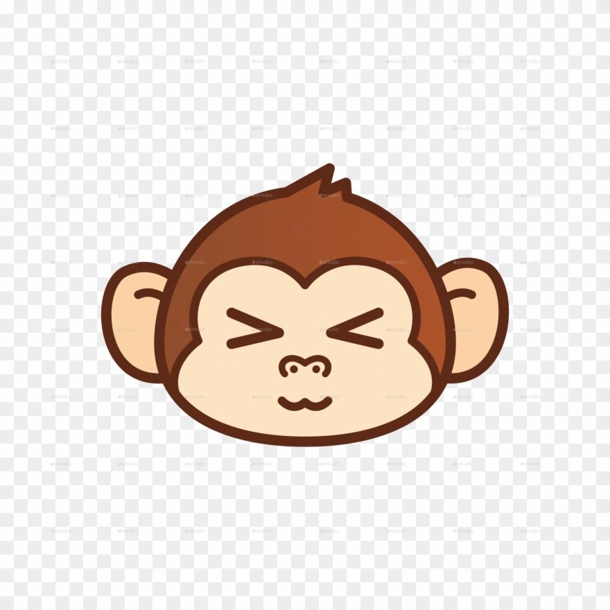 Pin Sad Monkey Clip Art.